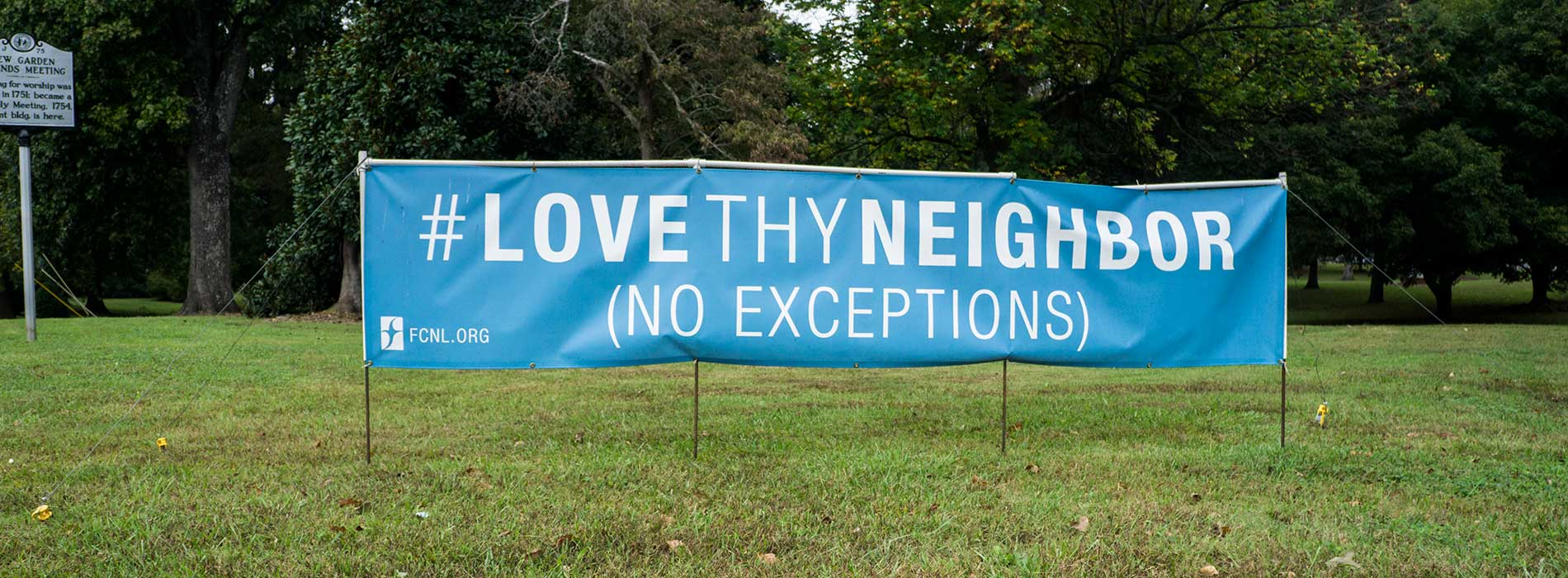 New Garden Friends Meeting - Love Thy Neighbor