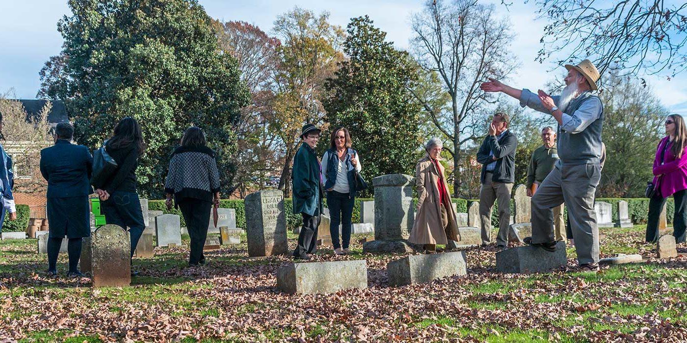 halloween graveyard tour / october 31 - new garden friends meeting